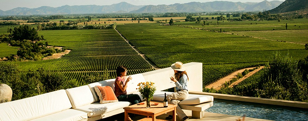 Casa Lapostolle winery, Colchagua Valley - Courtesy of Turismo Chile