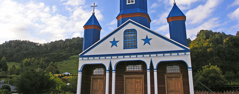 Tenaun church, Chiloe Island - Courtesy of Turismo Chile