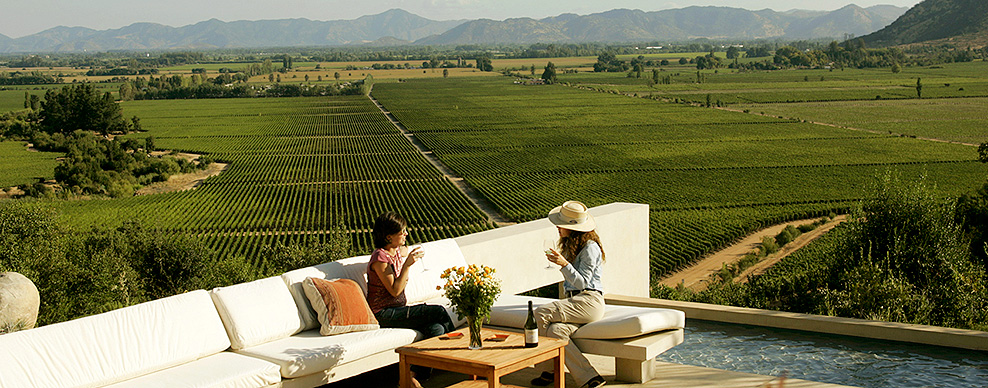 Casa Lapostolle vineyard, Colchagua Valley - Courtesy of Turismo Chile