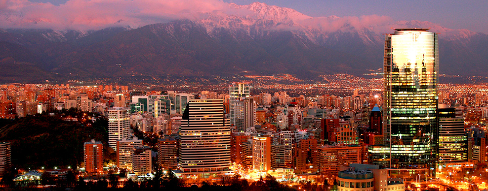 Santiago - Courtesy of Turismo Chile